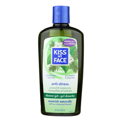 HGR0680108 - Kiss My FaceBath and Shower Gel Anti-stress Woodland Pine and Ginseng - 16 fl oz