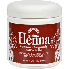 HGR0683029 - Rainbow ResearchHenna Hair Color and Conditioner Persian Burgundy Dark Auburn - 4 oz