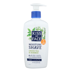 HGR0713974 - Kiss My FaceMoisture Shave Green Tea and Bamboo - 11 fl oz