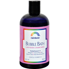HGR0720516 - Rainbow ResearchGentle Bubble Bath Formula - Lavender and Chamomile - 12 oz