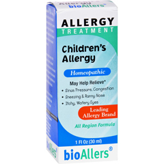 HGR0724419 - Bio-AllersChildrens Allergy Treatment - 1 fl oz