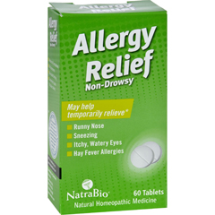 HGR0737411 - NatraBioAllergy Relief Non-Drowsy - 60 Tablets