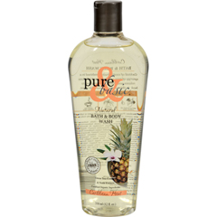 HGR0740316 - Pure and BasicNatural Bath and Body Wash Caribbean Heat - 12 fl oz