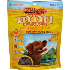 HGR0752048 - Zuke'sMini Naturals Dog Treats Chicken - 6 oz