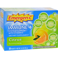 HGR0760520 - Emergen-CImmune Plus System Support with Vitamin D Citrus - 30 Packets
