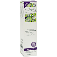 HGR0787283 - Andalou NaturalsToning Refresher Blossom and Leaf - 6 fl oz
