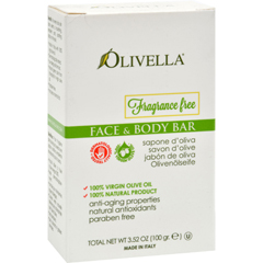 HGR0795039 - OlivellaFragrance Free Face And Body Bar - 3.52 oz