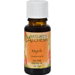 HGR0821082 - Nature's Alchemy100% Pure Essential Oil Myrrh - 0.5 fl oz