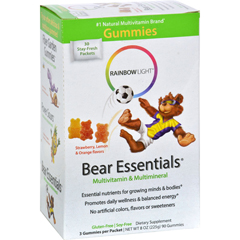 HGR0826057 - Rainbow LightGummy Bear Essentials Multivitamin Multimineral Fruit - 30 Packets