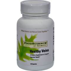 HGR0896563 - Food Science of VermontHealthy Veins - 60 Vegetarian Capsules