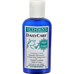 HGR0904797 - Eco-DentToothpowder Daily Care - Lemon Lime - 2 oz