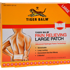 HGR0933150 - Tiger BalmPain Relieving Large Patches - Case of 6 - 4 Pack