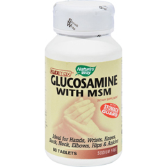 HGR0944710 - Nature's WayFlexMax Glucosamine with MSM - 80 Tablets