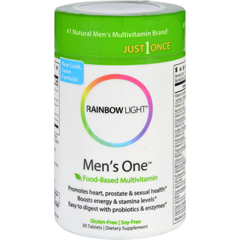 HGR0966788 - Rainbow LightMens One Energy Multivitamin - 30 Tablets