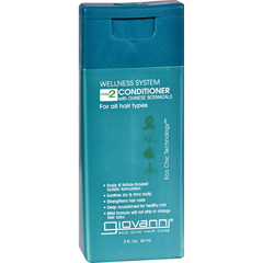 HGR1059344 - Giovanni Hair Care ProductsConditioner Wellness System - Travel Size - 2 oz
