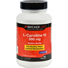 HGR1070903 - Bricker LabsCarnipure L-Carnitine - 500 mg - 100 Tablets