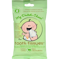 HGR1124924 - Tooth TissuesDental Wipes - Case of 6 - 30 Pack
