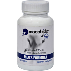 HGR1125863 - Bricker LabsMacabido Mens Formula - 60 Tablets