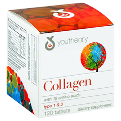 HGR1148634 - YoutheoryCollagen - Type 1 and 3 - 120 Tablets