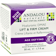 HGR1162320 - Andalou NaturalsAge-Defying Hyaluronic DMAE Lift and Firm Cream - 1.7 fl oz