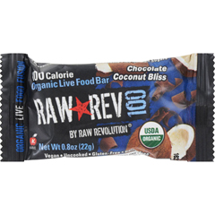 HGR1182328 - Raw RevolutionBar - Organic Chocolate and Coconut - Case of 20 - .8 oz