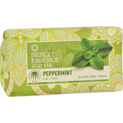 HGR1195825 - Desert EssenceBar Soap - Peppermint - 5 oz