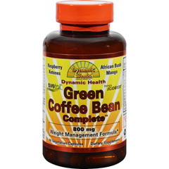 HGR1196385 - Dynamic HealthGreen Coffee Bean capsules - 60 Vcaps