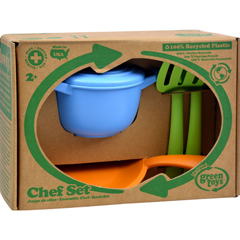 HGR1203256 - Green ToysChef Set - 5 Piece Set
