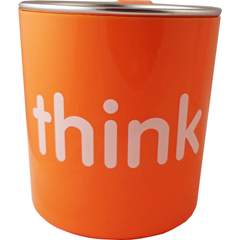 HGR1205400 - ThinkbabyBPA Free Kids Cup - Orange