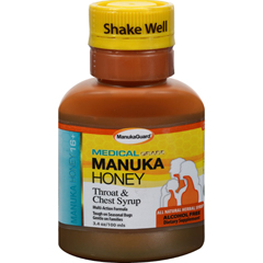 HGR1233964 - ManukaguardThroat and Chest Syrup - 100 ml - 3.4 fl oz