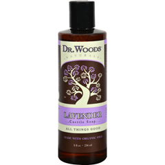 HGR1242551 - Dr. WoodsNaturals Castile Liquid Soap - Lavender - 8 fl oz