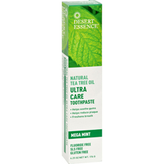 HGR1246552 - Desert EssenceToothpaste - Tea Tree U/Care Mint - 6.25 oz