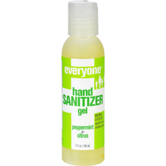 HGR1255405 - EO ProductsHand Sanitizer Gel - Everyone - Peppermnt - Dsp - 2 oz - 1 Case