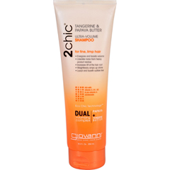 HGR1263722 - Giovanni Hair Care Products2chic Shampoo - Ultra-Volume Tangerine and Papaya Butter - 8.5 fl oz