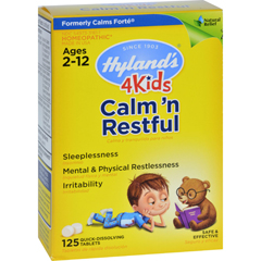 HGR1267871 - Hyland'sHomeopathic Calms Forte 4 Kids - 125 Tablets