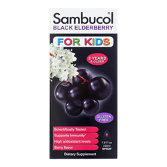 HGR1274919 - SambucolBlack Elderberry Syrup for Kids - 7.8 oz