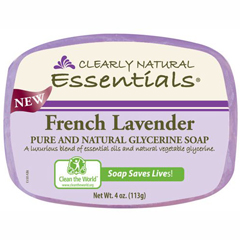 HGR1279611 - Clearly NaturalGlycerin Bar Soap - French Lavender - 4 oz