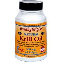 HGR1352368 - Healthy OriginsKrill Oil - 500 mg - 60 Softgels