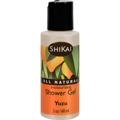 HGR1384064 - Shikai ProductsShower Gel - Yuzu Fruit Trial Size - 2 oz - Case of 12