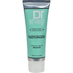 HGR1419423 - Dr. SharpNatural Oral Care Toothpaste - Fresh Mint with Green Tea - 3 oz