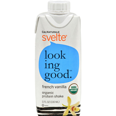 HGR1500123 - SvelteProtein Shake - Organic French Vanilla - 11 oz - Case of 8