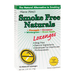 HGR1533280 - Three LolliesSmoke Free - Natural Lozenges - 12 Count