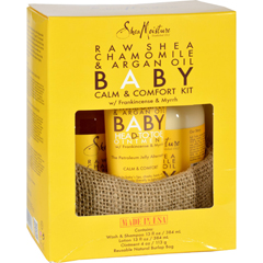 HGR1618503 - Shea MoistureSheaMoisture Gift Set - Baby - Raw Shea Chamomile and Argan Oil - Calm and Comfort Kit - 3 Pieces - 1 Set