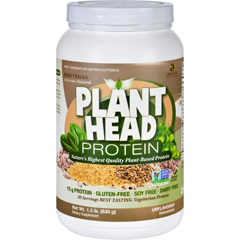 HGR1620269 - Genceutic NaturalsPlant Head Protein - Unflavored - 1.3 lb