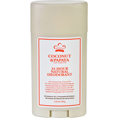 HGR1623727 - Nubian HeritageDeodorant - All Natural - 24 Hour - Coconut and Papaya - with Vanilla Oil - 2.25 oz