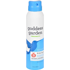 HGR1642172 - Goddess GardenSunscreen - Natural - Kids - SPF 30 - Continuous Spray - 3.4 oz