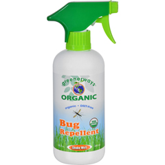 HGR1643097 - Greenerways OrganicGreenerways Bug Repellent - Organic - Spray - 16 oz