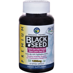 HGR1648773 - Black SeedOil - 1250 mg - 60 Softgel Capsules