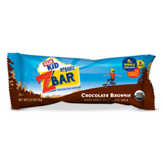 HGR1690874 - Clif BarClif Kid Zbar - Organic - Chocolate Brownie - 7.62 oz - Case of 12