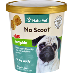 HGR1694710 - NaturvetNaturVet No Scoot - Plus Pumpkin - Dogs - Cup - 60 Soft Chews